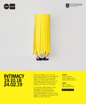 INTIMACY at Science Gallery